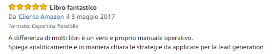 Recensione libro Lead Generation Amazon