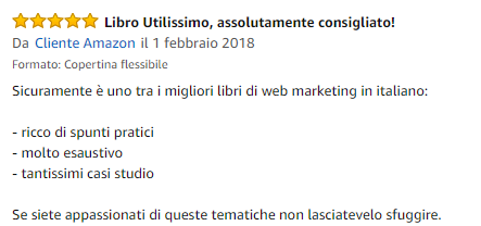 Recensione libro Lead Generation Amazon 4